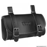 Sacoche selle marque Vélox vintage classic couleur noir