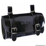 Sacoche selle marque Vélox vintage classic couleur noir vernis