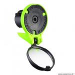 Rétroviseur vélo the beam corky cyclo/route racing couleur vert fluo réglable