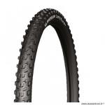 Pneu VTT 27.5x2.10 tringle souple marque Michelin country grip'r tubeless ready couleur noir (54-584)