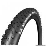 Pneu VTT 29x2.25 tringle souple marque Michelin force xc performance line tubeless ready couleur noir (57-622)
