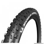 Pneu VTT 29x2.35 tringle souple marque Michelin force am performance line tubeless ready couleur noir (58-622)