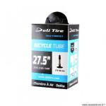 Chambre à air VTT 27.5x2.50/3.00 valve presta marque Deli Tire (62/75-584)