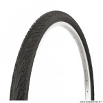 Pneu VTT 26x1.75 tringle rigide marque Deli Tire blue way anticrevaison 2.5mm couleur noir sa 206 (47-559) e-bike/vae