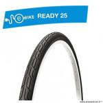 Pneu VTC 700x32 tringle rigide marque Deli Tire blue way anticrevaison 2.5mm couleur noir s192 (32-622) e-bike/vae