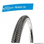 Pneu VTC 700x38c tringle rigide marque Deli Tire blue way anticrevaison 2.5mm couleur noir (700x1 1/5/8 - 40-622) e-bike/v