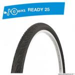 Pneu VTC 700x45c tringle rigide marque Deli Tire blue way anticrevaison 2.5mm f. réfléchissant couleur noir (47-622) e bik