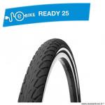 Pneu VTT 20x1.75 tringle rigide marque Deli Tire blue way anticrevaison 2.5mm couleur noir (47-406) vae/e-bike