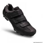 Chaussures vélo VTT marque FLR elite f55 taille 39 couleur noir 3 bandes auto agrippantes
