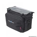 Sacoche vélo cintre marque Klickfix daypack souple 26x22x16 8l + porte carte/housse (avec fixatio
