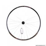 Roue vélo e-bike/vae/cargo 28p arrière blocage k7 jante couleur noir mach1 kargo. moyeu shimano tx500 v-brake marque Vélox