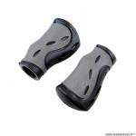 Poignées marque Progrip 988 dual ergonomique couleur gris/noir 85mm