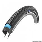 Pneu VTC 700x32 tringle rigide marque Schwalbe marathon plus couleur noir (32-622) vae/e-bike ready 50