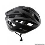 Casque route/VTT marque Optimiz o-310 taille 52/56 couleur noir mat avec réglage occipital