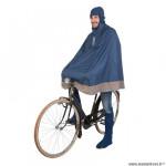 Poncho protection pluie marque Tucano Urbano garibaldina taille xs/m - couleur bleu foncé
