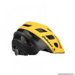 Casque VTT marque Polisport e3 taille 58/61 couleur jaune/noir mat in-mold avec réglage occipital