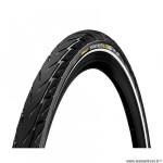 Pneu VTC 700x42 tringle rigide marque Continental contact city couleur noir/noir (42-622)