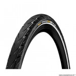 Pneu VTT 26x1.75 tringle rigide marque Continental contact city couleur noir/noir (47-559)