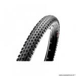 Pneu VTT 27.5x2.00 tringle souple marque Maxxis race tt exo tubeless ready couleur noir 610g. (50-584)