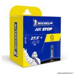 Chambre à air VTT 27.5x2.35/3.00 valve presta marque Michelin b6 40mm (60/77-584)
