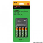 Chargeur pile aa/aaa marque Kodak (accu/piles inclus (es))