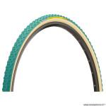 Boyau cyclocross 700x33 marque Michelin power mud couleur vert/beige (33-622)