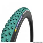 Boyau cyclocross 700x33 marque Michelin power jet couleur vert/beige (33-622)