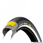 Pneu tradi 650x35a marque Michelin protek tringle rigide couleur noir flanc réfléchissant (26x1 3/8 - 37-590)