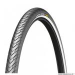 Pneu VTC 700x38 tringle rigide marque Michelin protek max flanc réfléchissant couleur noir (40-622)