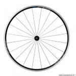Roue vélo route 700 avant blocage jante couleur noir marque Shimano rs100 moyeu marque Shimano