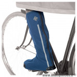 Couvres chaussure vélo hiver Tucano Urbano uose couleur bleu waterproof (taille 36-39)