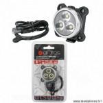 Eclairage vélo WTP sport et outdoor avant rechargeable usb disco