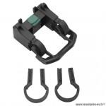 Fixation de panier avant clips 25,4/31,8 (clic sécurité) - Pièces Vélo Newton
