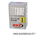 Chambre à air de 26 pouces x 1,75/2,125 standard 197 grammes marque CST - Pièce vélo