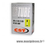 Chambre à air de 26 pouces x 1,75/2,125 presta 195 grammes marque CST - Pièce vélo