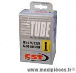 Chambre à air de 26 pouces x 1,75/2,125 superlight standard 127 grammes marque CST - Pièce vélo