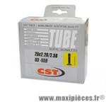 Chambre à air de 26 pouces x 2,2/2,50 standard 274 grammes marque CST - Pièce vélo