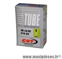 Chambre à air dimensions 700 x 35/42 presta 153 grammes marque CST - Pièce vélo