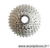 Cassette 9 vitesses 11x32 dents finition mat marque Leader - Pièce vélo