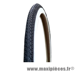 Pneu 700 x 35c world tour blanc/noir marque Michelin