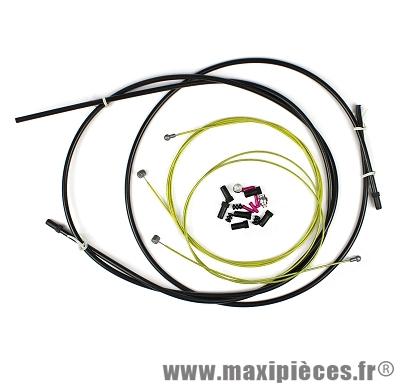 Transmission complète frein l'échappée + embout (gaine et cable) - Accessoire Vélo Pas Cher