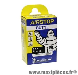 Chambre à air de 26 pouces x 1/1,35 c2 standard marque Michelin - Pièce vélo