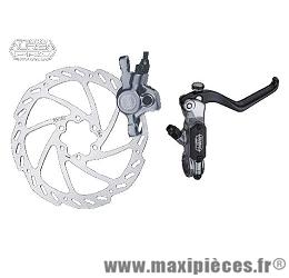 Frein disque hydraulique avant auriga pro diamètre 180mm blanc marque Tektro - Matériel pour Vélo
