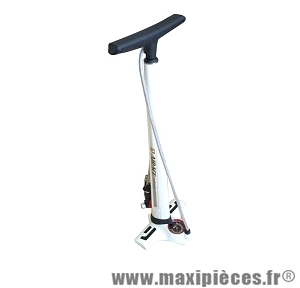 Pompe a pied infinity as blanche (21 bars) marque Airace - Accessoire vélo