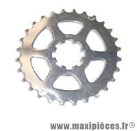 Pignon adaptable 9 vitesses sur Campagnolo 28 dents position intermédiaire Miche *Prix spécial !