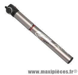 Mini pompe fit regular 7 bars vs/vp marque Airace - Accessoire vélo