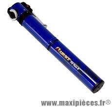 Mini pompe fit tele r (route) 7 bars vs/vp diamètre 20mm bleu marque Airace - Accessoire vélo