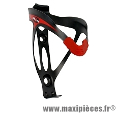 Porte bidon velo noir rouge marque Oktos - Accessoire vélo pas cher