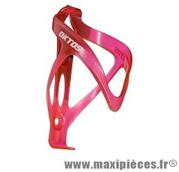 Porte bidon plastique rouge marque Oktos - Accessoire vélo