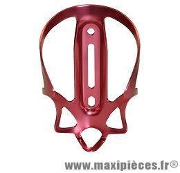 Porte bidon alu anodise rouge marque Oktos - Accessoire vélo